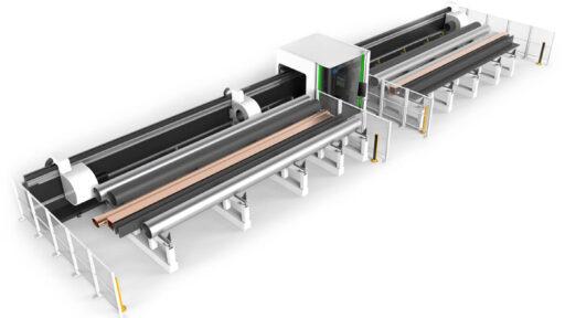 Лазерный станок для резки труб больших длин Bodor серия M